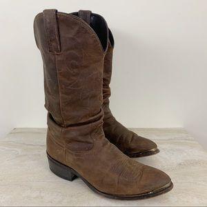 Durango Men's slouchy Leather Cowboy Boots